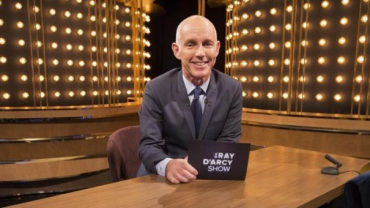 Here's your full line-up for The Ray D'Arcy Show tonight