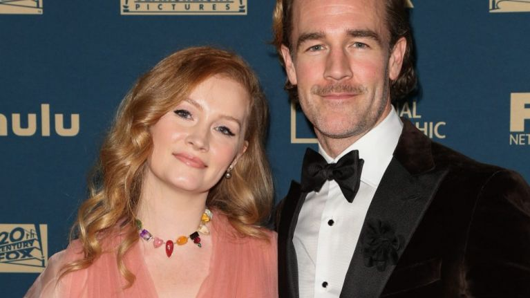 James Van Der Beek and wife Kimberly 'thrilled beyond belief' to be expecting sixth child