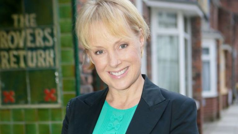 Corrie's Sally Dynevor hints at 'dark and serious' plot line for next year