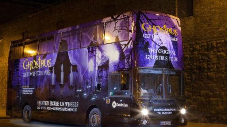 Dublin's iconic Ghostbus has launched a spooktacular new tour for kids