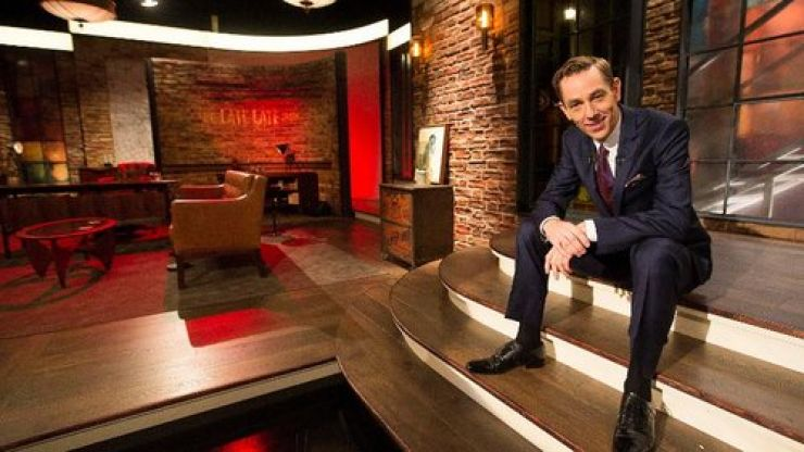 This week's Late Late Show boasts top Irish and international guests