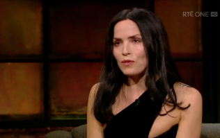 Andrea Corr praised for opening up about her five miscarriages on Late Late Show