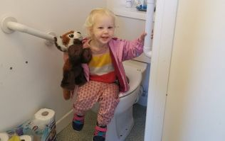 I'm potty training my second child and here's why I don't find it any easier