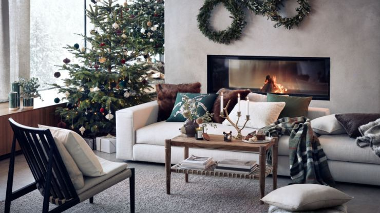 H&M Home's new collection is all our rustic Scandi Christmas dreams come true