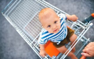Mum angered after shop worker takes her child out of shopping trolley