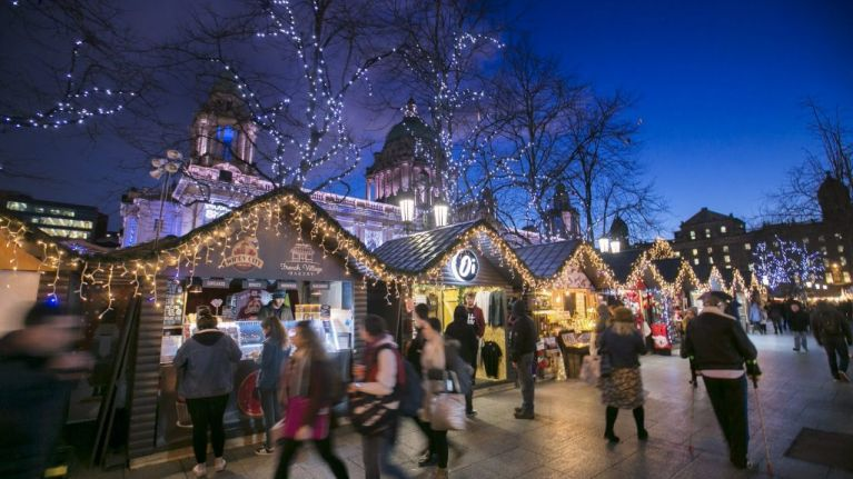 Festive spirit and Gluhwein - Belfast Christmas Market launches next week