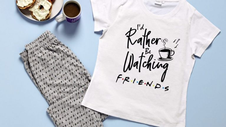 Aldi have a Friends range coming in that we really want for a 'mammy sleepover'