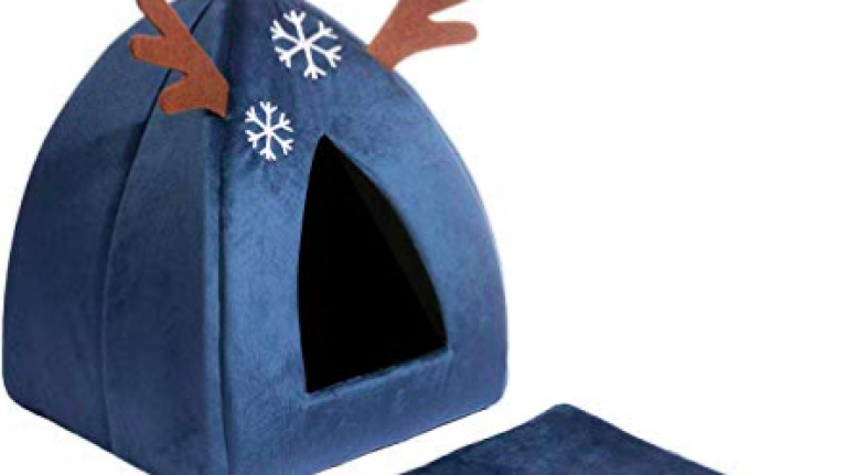 You can now get a heated festive cat bed to keep your kitty cosy this Christmas