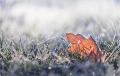 Met Éireann say temperatures are going to drop to -4 degrees over the weekend