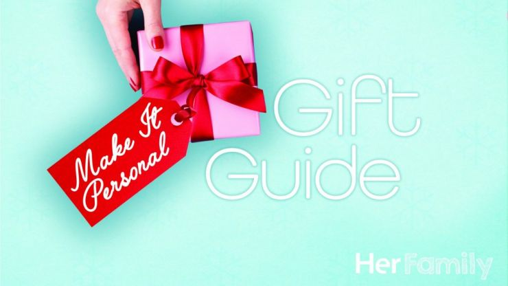 Herfamily Gift Guide: 10 personalised Christmas gifts for everyone on your list