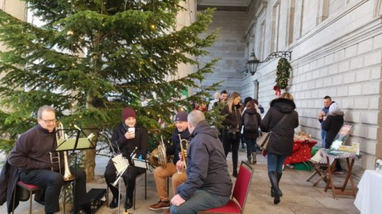 The Designer Dublin Christmas Market is coming to College Green very soon