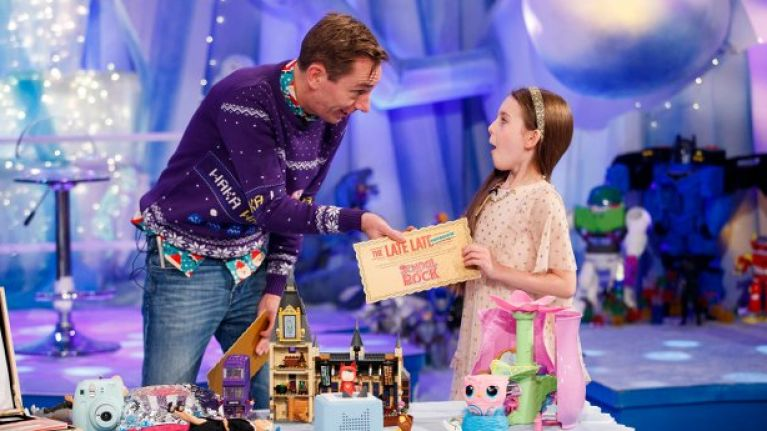 The Late Late Toy Show was the most-watched Irish TV programme this year