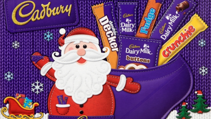 Is it really Christmas without a selection box? Now you can get them customised