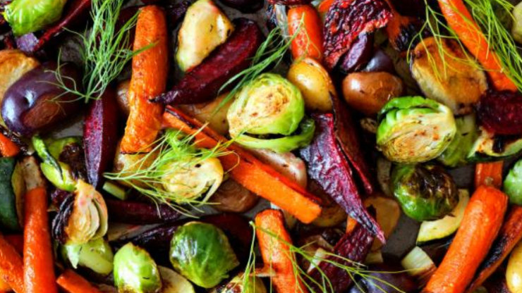 How to get your veggies and potatoes nicely roasted for Christmas dinner