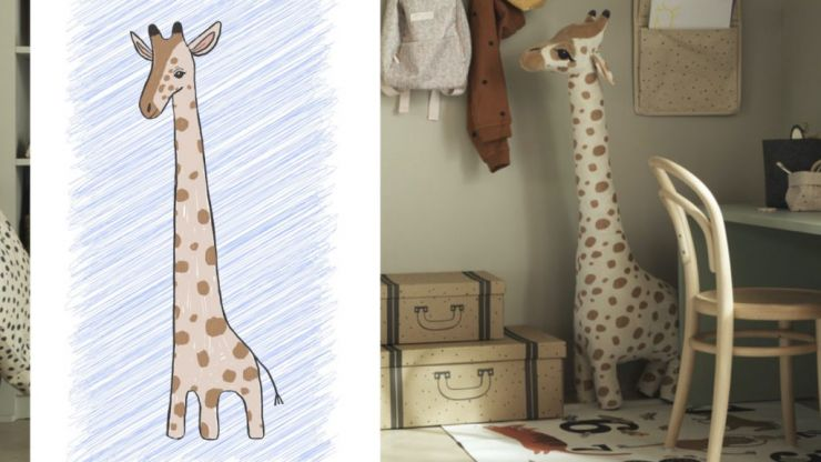 Your child's drawing could come to life as a soft toy in H&M Home drawing competition