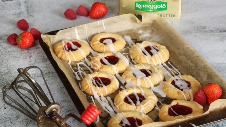 This jam drop cookie recipe will keep the whole family entertained (until they start asking for more)