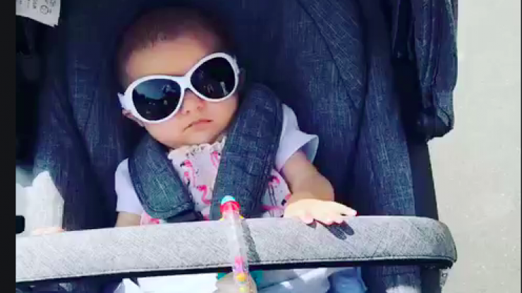 Here is why children should wear sunglasses when outside in summer