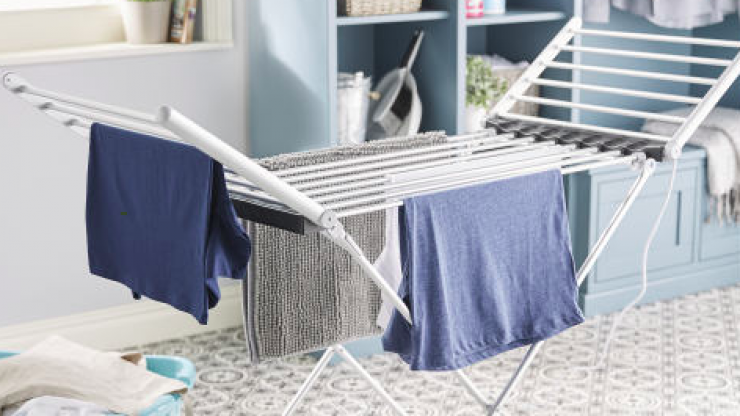Aldi's heated clothes horse is going back on sale this week
