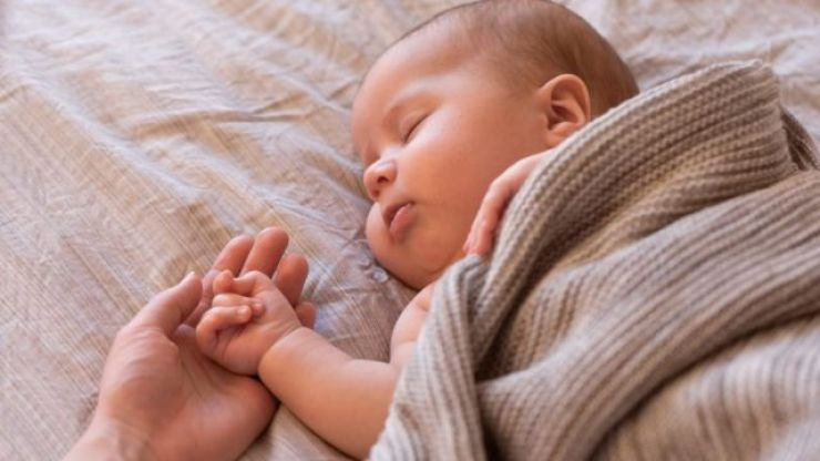 The one trick my friend uses to get her baby to sleep – and swears it always works