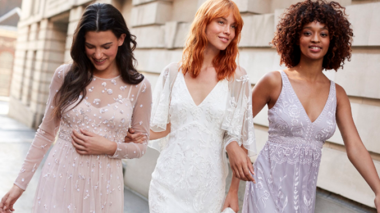 Monsoon has launched a collection of affordable wedding dresses, and they're dreamy