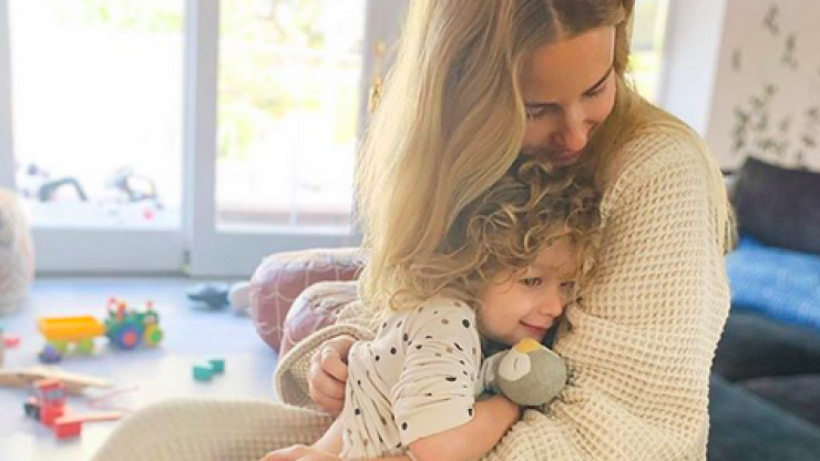 Kids and screens: Whitney Port just took to Instagram to reveal a familiar scenario