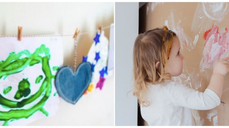 3 cool ways to display all that artwork your kids keep bringing home