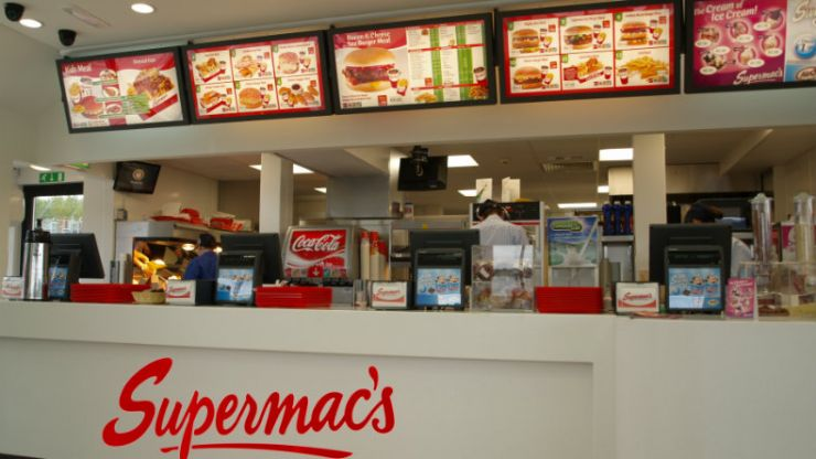 Supermac's offering free meals to all emergency services workers