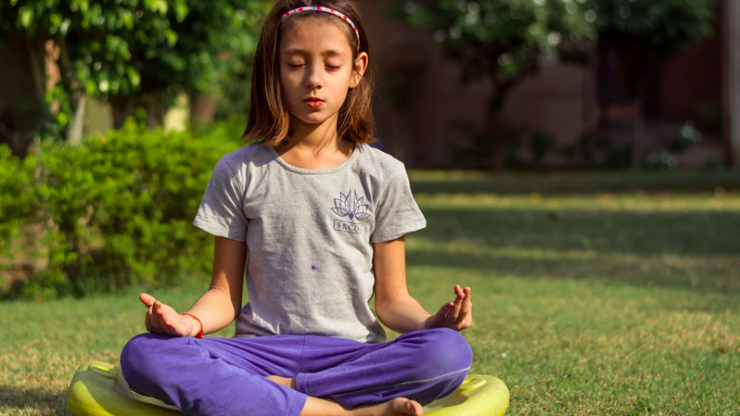 I am a yoga teacher, and use this mindfulness activity a lot with my own children