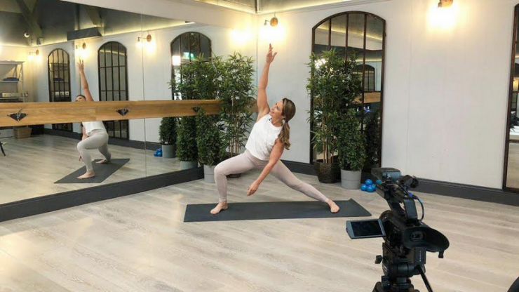 Missing being active? Now you can do live Platinum Pilates classes online every day
