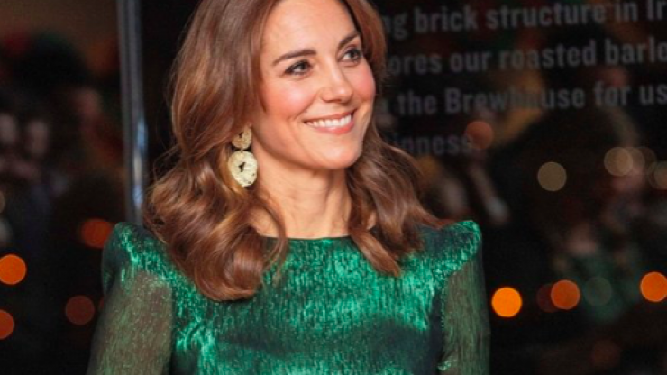 Dress worn by Kate Middleton while visiting Ireland named 'Dress of the Decade'