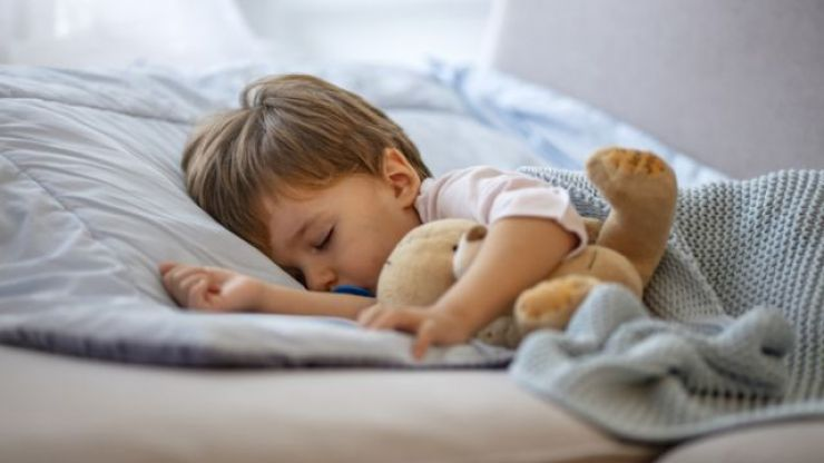 According to new research, daytime naps should stop when your toddler turns two