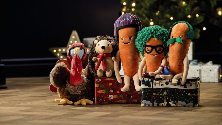 Mark the calendar: Kevin the Carrot and family arrive in Aldi stores from Dec 6