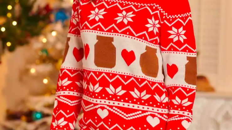 Nutella have launched their first ever Christmas jumper - and it's v cute