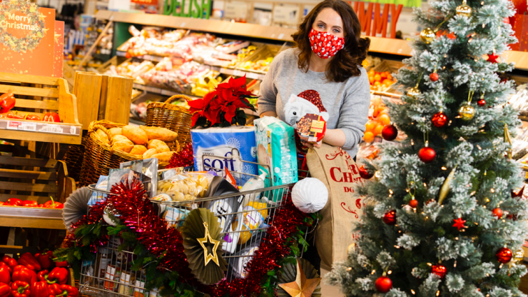 Tesco's Christmas food appeal will take place across the country this weekend