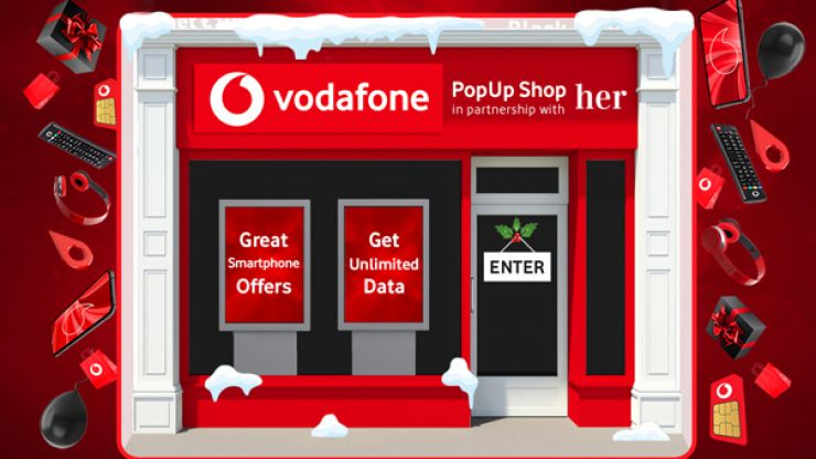 Visit Vodafone's Pop-Up Shop at Her for fantastic offers on smartphones and accessories to keep the whole family happy!
