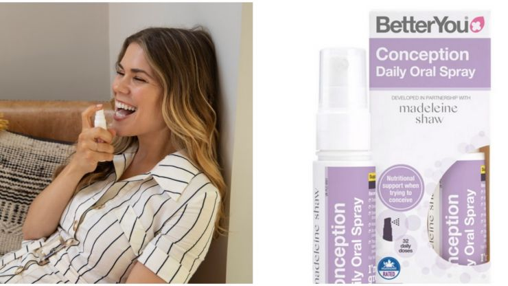 Trying for a baby? These pill-free oral vitamin sprays are a game-changer