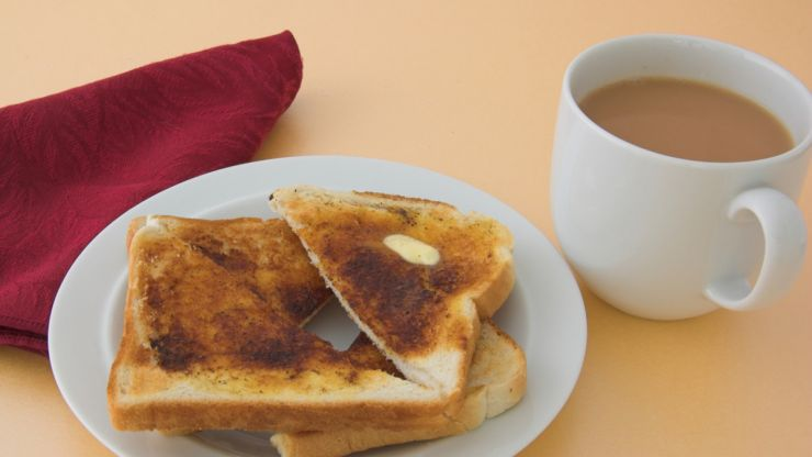 #ToBeHonest: the tea and toast after giving birth is the best meal ever