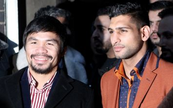 Amir Khan's fight against Manny Pacquiao has been cancelled