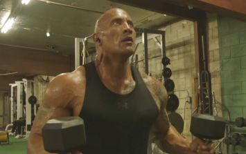 The Rock has posted his Ultimate Workout video