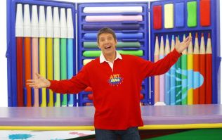 Turns out there was a hidden dirty message in the show Art Attack