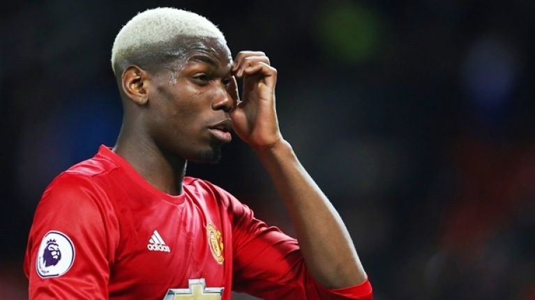 Manchester United fans were in no doubt about Paul Pogba's performance against FC Rostov