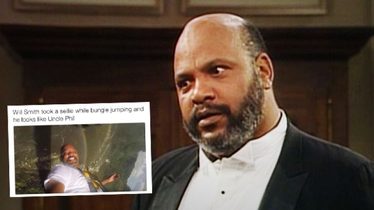 People are losing their sh*t over how much Will Smith looks like Uncle Phil in this photo