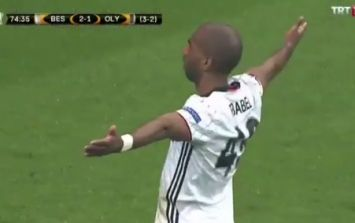 Former Liverpool man Ryan Babel delivered a blast from the past in the Europa League