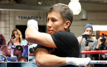 Gennady Golovkin compares Mayweather-McGregor to the release of a new movie
