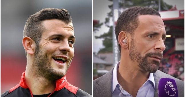 Rio Ferdinand makes a great point about Jack Wilshere's situation at Bournemouth