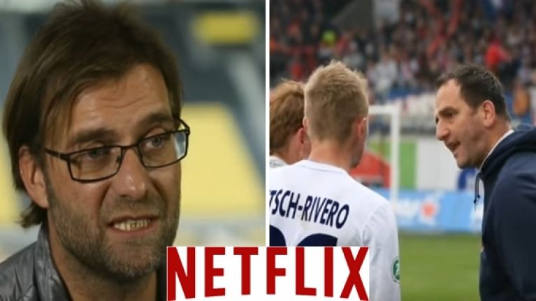 Jürgen Klopp features in an excellent documentary on Netflix