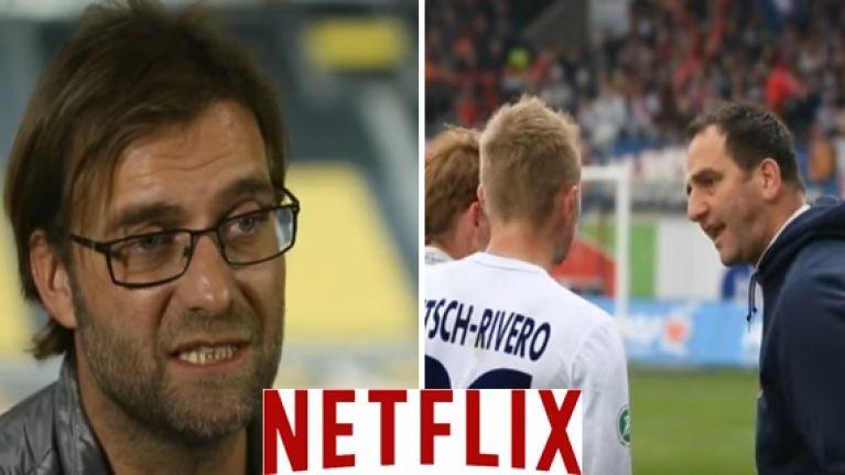 Jürgen Klopp features in an excellent documentary on Netflix