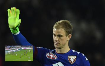 Fans have been laying into Joe Hart after two blunders for Torino