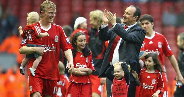 Dirk Kuyt's son is five years old and is already better than you at football