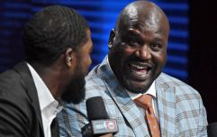 Shaquille O'Neal believes the world is flat and his reasoning isn't exactly scientific